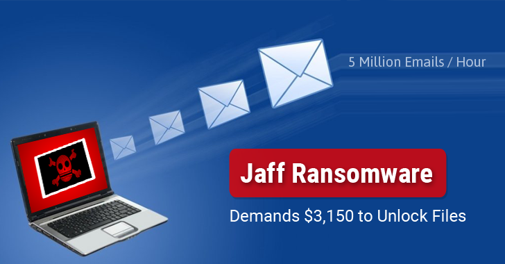 Beware of Jaff Ransomware