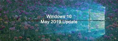 Windows 10 May Update