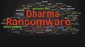 Dharma Ransomware Using Legitimate Antivirus as Cover